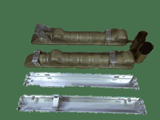 Par caixas e laterais F1000 maxion 95 a 98 intercooler