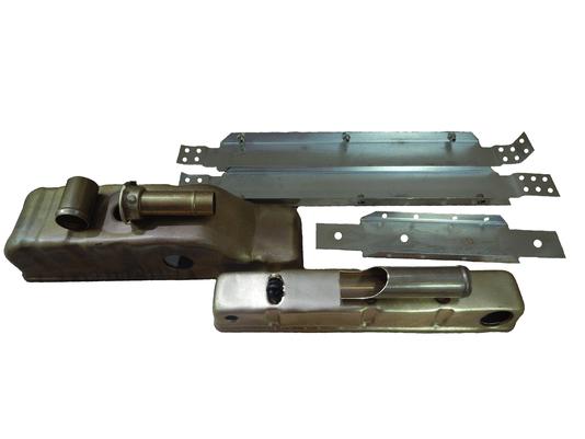 Par de caixas e Laterais Massey 265 MF275 MF285 MF290