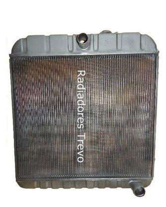 Radiador agua GM C10 Veraneio 6 Cc67/84 3 Carreiras