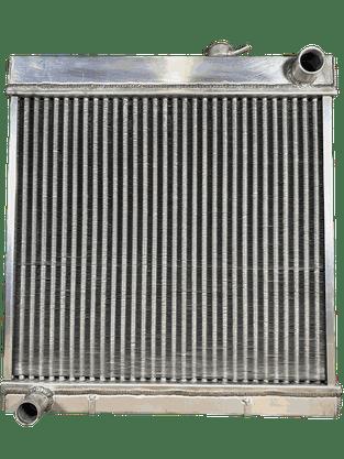 Radiador Aluminio GM D10 4 carreiras + kit Mang+ Abraç