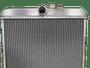 Radiador Rural F75 Willys 6 cilindros Aluminio Brasado
